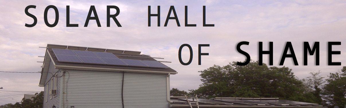 Solar Hall of SHAME