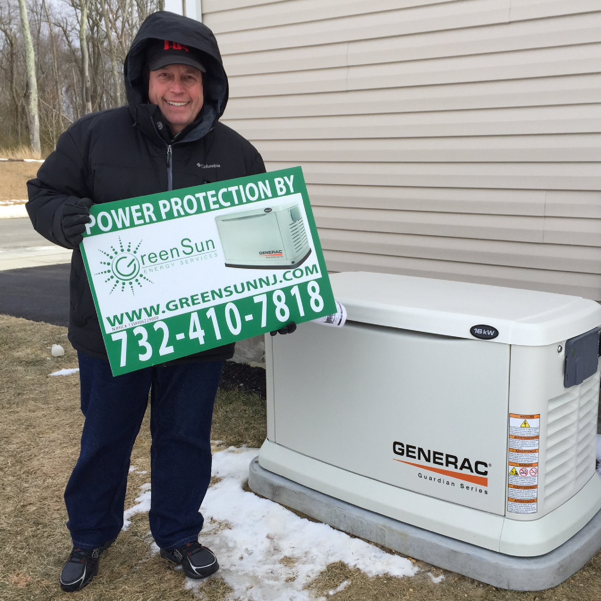 16 kW Generac Generator Installation Review In Farmingdale, NJ