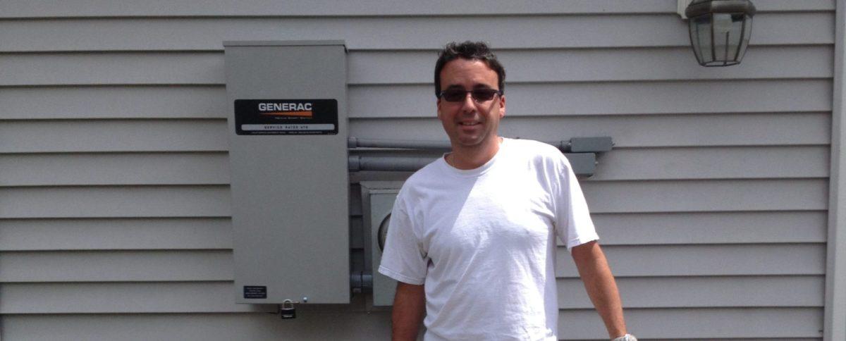 17 kW Generac Generator In Hazlet