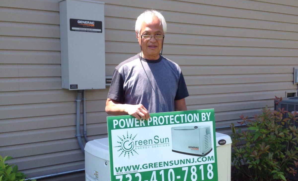 14 kW Generac Generator Installed In Farmingdale New Jersey