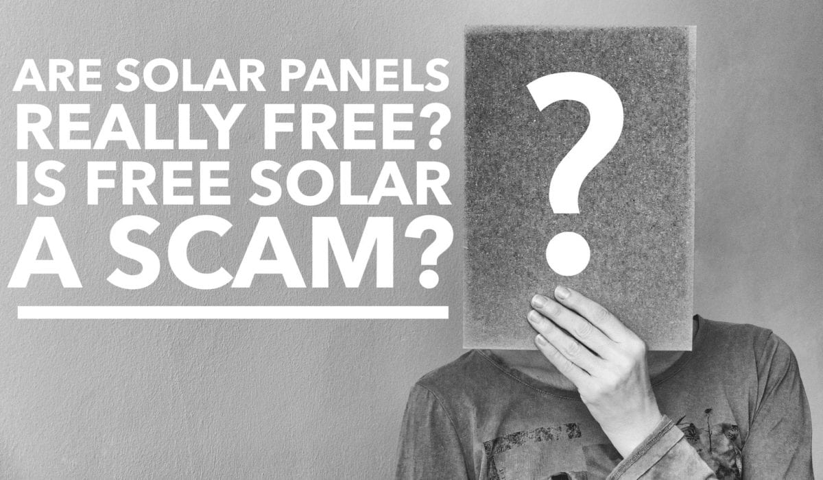 Are solar panels really free