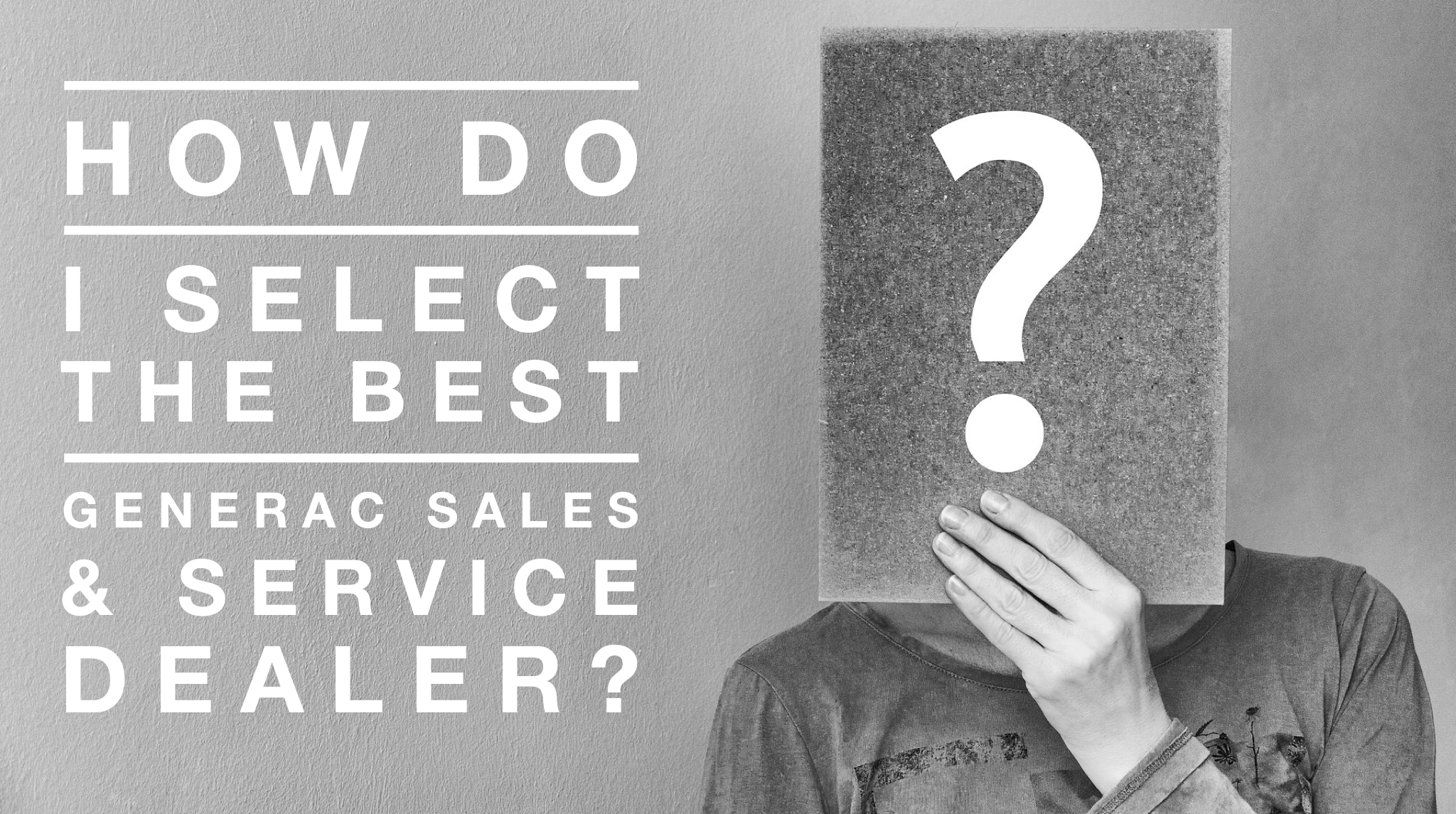 How Do I Select The Best Generac Authorized Sales & Service Dealer In New Jersey?