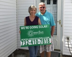 We Installed This Great Looking 12.6 KW DC Solar Panel System For Carleen & Rick In Brick, NJ