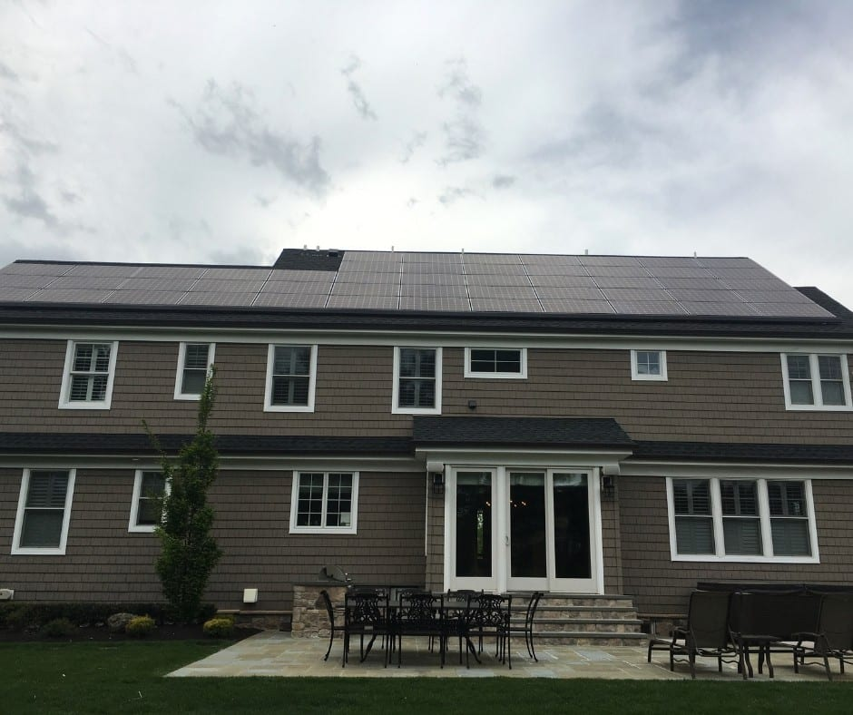 We installed this great looking 16 KW DC solar panel system for Derek, Elizabeth and their family In Middletown, NJ