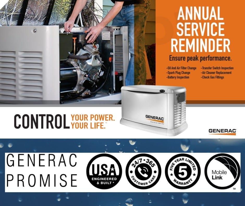 Generac Generator Maintenance Plans in New Jersey