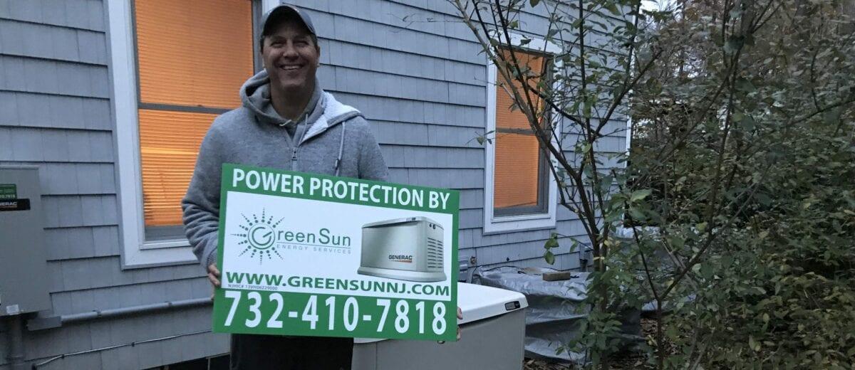 16 kW Generac Generator Installation in Holmdel NJ