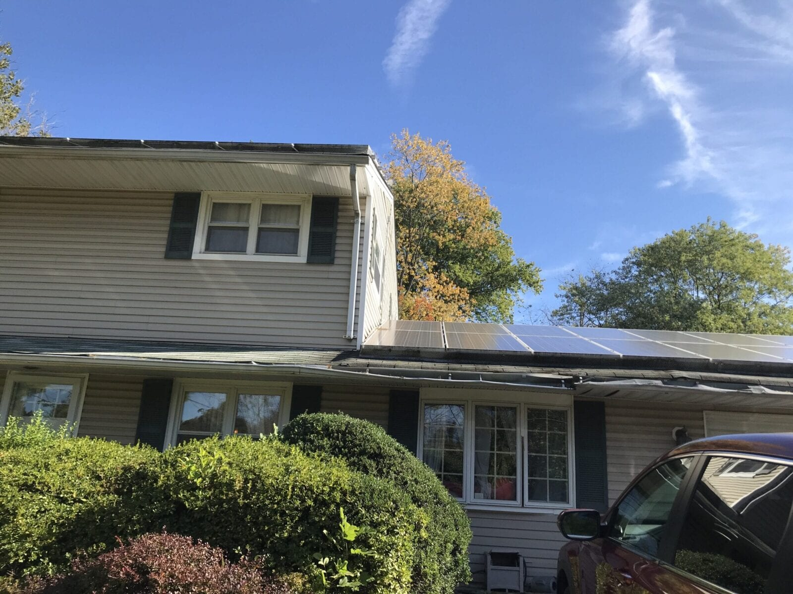 Failing Solar Panel System In Kendall Park, New Jersey