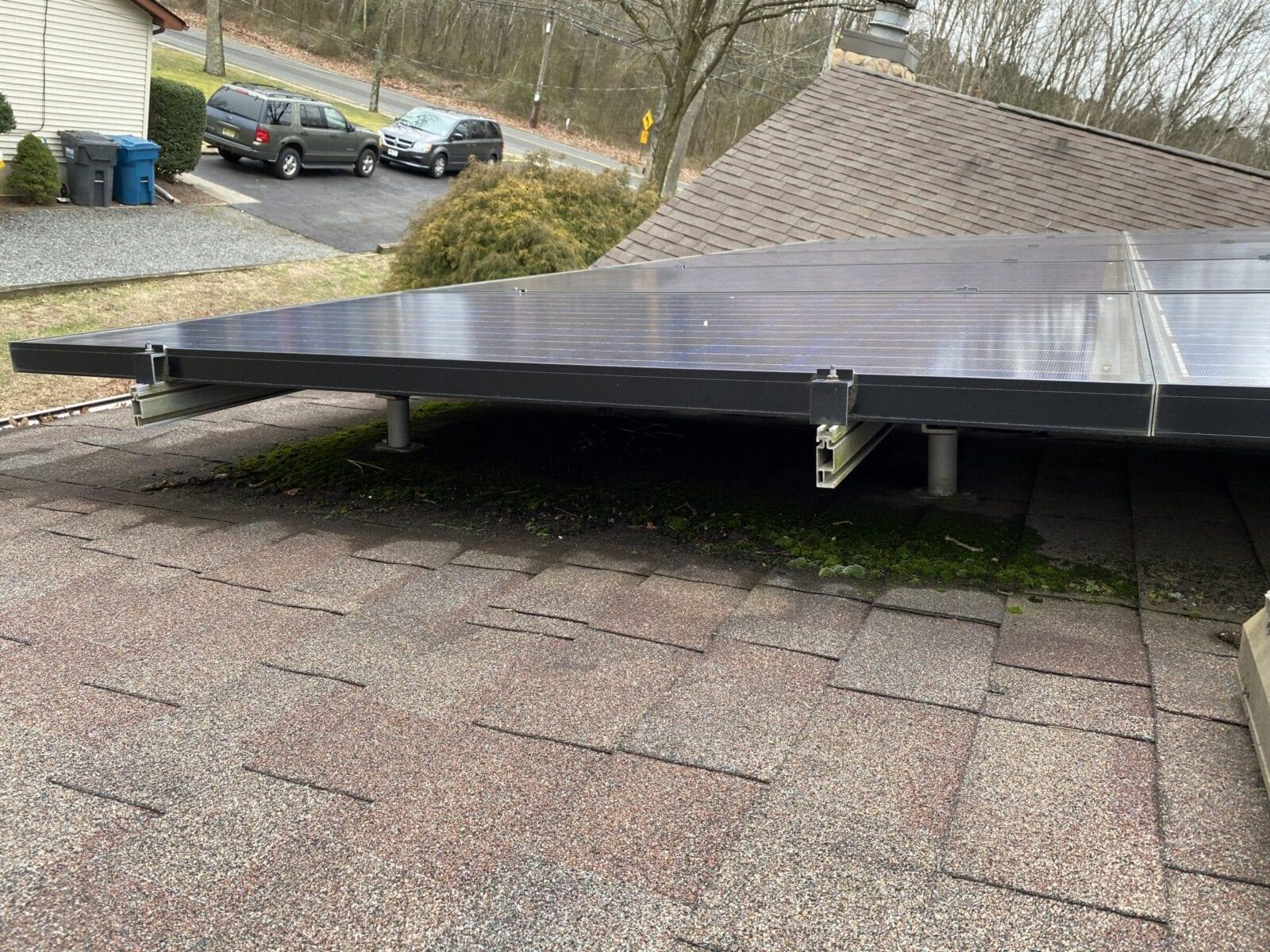 Bad Solar Installation in Jackson New Jersey